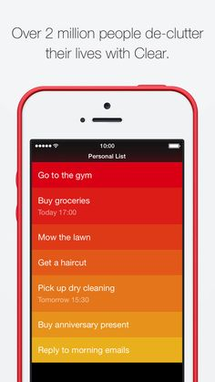 Clear – Tasks, Reminders & To-Do Lists by Realmac Software