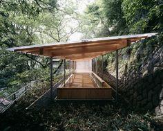 KOGOHI BATH HOUSE by Kengo Kuma and Associates