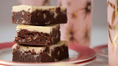 German Chocolate Cream Cheese Brownies Recipe Desserts with unsalted butter, philadelphia cream cheese, granulated sugar, all-purpose flour, large eggs, pure vanilla extract, baking powder, salt, german chocolate, chopped pecans