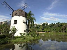 Porto Alegre, the city where I was born and raised until my 13 years old. The windmill is located at Parque Moinhos de Vento, two blocks from where I lived with my mom...