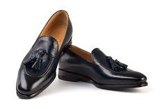 michelangelo blue handcrafted shoes Tassel Loafers, Michelangelo, Penny Loafers, Italian Style, Tassels, Classy, Stylish, Casual, Model