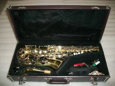 Yamaha YAS-23 Alto Saxophone with Case & Accessories Sax - Nice Condition NR