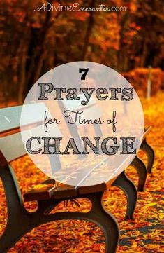 Change is usually not easy to endure, often bringing with it times of uncertainty and even difficulty. Are you going through a season of change in your life? What does God have to say about change? Here are 7 biblical prayers for seasons of change. Christian Living, Christian Faith, Christian Prayers, Christian Women, Christian Quotes, Bible Verses, Jesus Bible, Scriptures, God Jesus