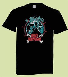 15€ Blue Cats - Billy Ruffians | Nitroboy L tai XL Myös jollain muulla kuvalla kyseisen bändin T-paita käy. :)