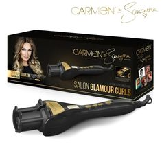 With the Carmen by Samantha Salon Glamour Curls you can get fabulous, professional styles in minutes. The Salon Glamour Curls is so easy to use; it even draws your hair into the curling compartment automatically taking the fuss out of sectioning. The automatic curl direction creates a beautiful, natural-looking finish. Whether you have poker straight or naturally curly hair, the Carmen Salon Glamour Curls gives you so many exciting options - from beautiful, glamorous curls to natural boho…