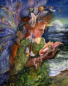 Beachcomber Fairy • Josephine Wall