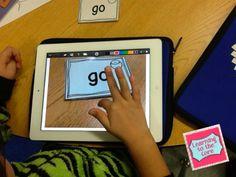 Sight Word Practice on the iPad