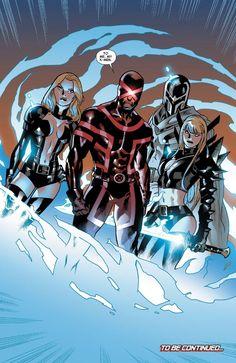 All-New X-Men #9  Writer: Brian Michael Bendis Penciller: Stuart Immonen Inker: Wade Von Grawbadger  Colorists: Marte Gracia and Rain Beredo