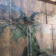 Illustration on woodendoors by florisfelix