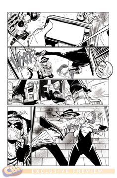 by Robbie Rodriguez. Preview: Spider-Gwen #1, Page 1 of 3 - Comic Book Resources