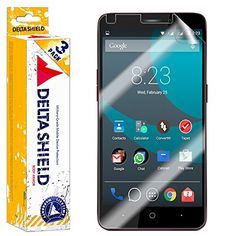 00537d02a086 DeltaShield BodyArmor - ZTE Prestige Screen Protector - HD Clear Cover  Shield with Lifetime Warranty Replacements - Anti-Bubble