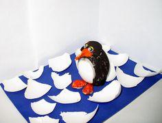 Pinguin werkje met kleuters /   Унылый пингвин