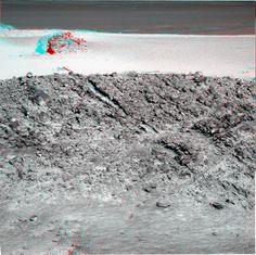 "OPPORTUNITY sol 2949 Pancam Anaglyph - ""Courtesy NASA/JPL-Caltech."" processing 2di7 & titanio44"