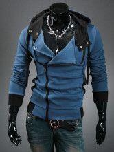 Handsome Zipper Casual Cotton Men's Hoodie