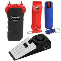 Personal Safety Package Includes 3 Self Defense Products!  It contains a Stun Gun, Pepper Spray and a Door Stop Alarm. The package makes a great Holiday Gift which can also be separated for 3 loved ones, making it more affordable!   Blog: http://womenonguard.blogspot.com/2015/12/personal-safety-package-includes-3-self.html Store: http://www.womenonguard.com/personal-safety-package  holiday gift,stun gun,pepper spray,door stop alarm,affordable,