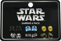 Star Wars Logo  Character 6 Pair Earrings -- Read more reviews of the product by visiting the link on the image.