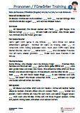 #Pronomen / #Fuerwoerter #Englisch Arbeitsanweisungen sind in den Lösungen in Englisch übersetzt. #Arbeitsblaetter / Übungen / Aufgaben für den Rechtschreib- und Deutschunterricht - Grundschule.  Es handelt sich um 45 Diktattexte, die auf 8 Arbeitsblätter verteilt sind. In die Lücken werden die Pronomen / Fürwörter ich / du / er / sie / es eingesetzt. Wortschatz 2.Klasse.  8 Arbeitsblätter + 4 Lösungsblätter
