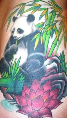 Panda Tattoo.  Here are some more pandas for Amanda Panda