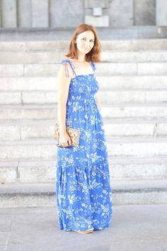 Vestida de azul   La Chimenea de las Hadas   Blog de Moda y lifestyle   Buscando el lado bonito de las cosas