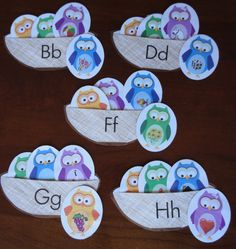 Owl initial sound sort activity. Dina, this is for u!