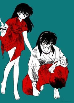 InuYasha & Kagome ( From the manga)