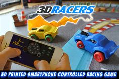 3DRacers - A racing game you can (3d) print!