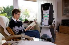 The idea of a robot as a carer and caregiver, looking after and nursing people in their own environment is still met with resistance.