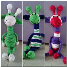 Familie giraf