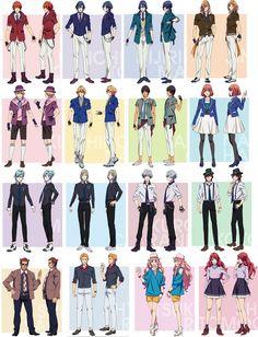 La 3ª temporada de los guapísimos idols de Uta no Prince-sama se estrenará en abril y ya se han desvelado los diseños de los personajes. Are you Ready?