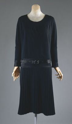One of Coco's little black dresses from the 20's.