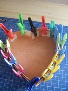 Un tuto pour réaliser une boîte cœur en cartonnage