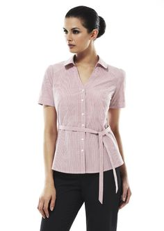7054038336dc2 Corporate Uniforms Online · Ladies New Yorker 3 4 Sleeve Shirt - LB2725 - Biz  Collection