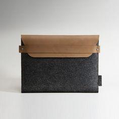 leather/felt ipad case