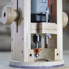 Fabrica tu propio soporte o base de inmersión para tu fresadora, en contrachapado y con materiales baratos