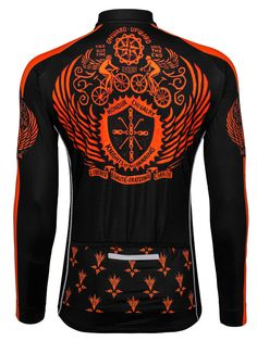 Vintage Heraldic Long Sleeve jersey from Cycology. #cycology, #heraldic