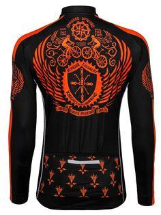 a00e513b3 Vintage Heraldic (Orange) Mens Long Sleeve Jersey. Cycling JerseysCycling  ArtRoad CyclingCycling BikesMtbCycling ClothesCycling ...