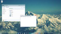 Windows 7 Everest Aero - transparent taskbar theme by on DeviantArt Gta Iv Pc, Glass Theme, Google Sites, Microsoft Windows, Creative Logo, User Interface, Logo Design, Child, Collection