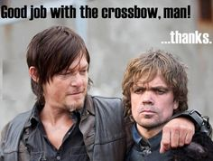 Walking Dead meets Game of Thrones