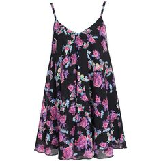 Nly One Floral Shift Dress (33 AUD) ❤ liked on Polyvore featuring dresses, short dresses, floral, party dresses, womens-fashion, shift dress, floral chiffon dress, floral mini dress, floral dresses and chiffon dresses