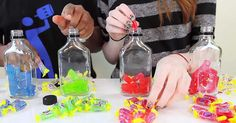 Flavored Vodkas are all the rage lately, and I recently discovered they're not all that difficult to make! In the video below, the crew over at Tipsy Bartender walks us through the process of making Jolly Rancher-flavored vodka.