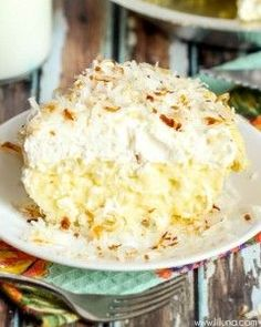 Coconut Cream Pie recipe | Lil' Luna