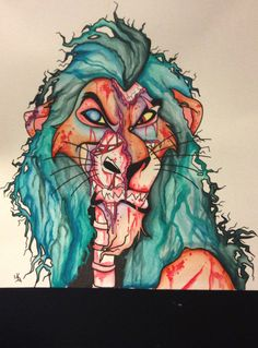 Zombie Scar Disney The Lion King
