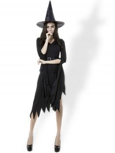 6ef6d00c401 D R E S S L I L Y · Halloween Costumes Witch Women s Black Dress With Witch  Hat - BLACK XL      · Anniversary SaleClothing ...