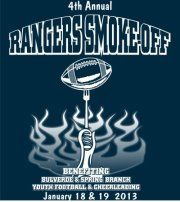 Spring Branch Youth Football Association BBQ smoke off