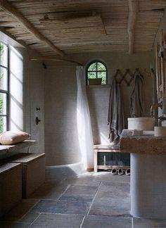 egyedi rusztikus belsőépítészet, konyha