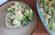 Cheesy Chicken & Broccoli Bake - Happy Food, Healthy Life