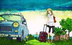 anime suitcase - Google Search