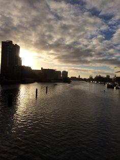 Morning@Amsterdam Amsterdam, New York Skyline, Travel, Viajes, Destinations, Traveling, Trips