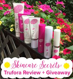 Giveaway! Enter our Trufora giveawayto win a 7-piece Complete Skincare System of your very own. #vegan #crueltyfree #veganbeauty