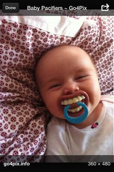 Funny dummy / pacifier